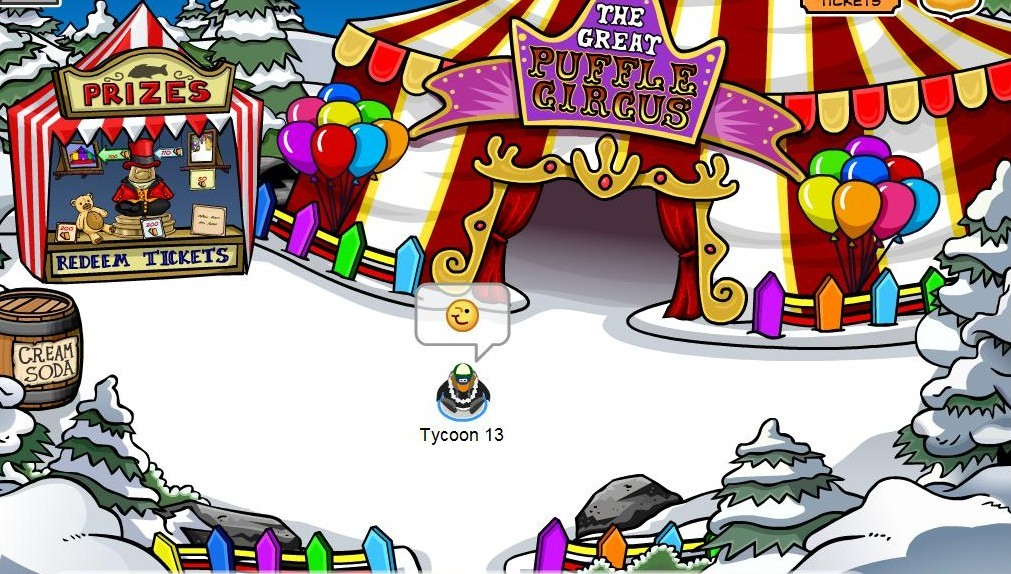 Fall Fair Puffle Circus